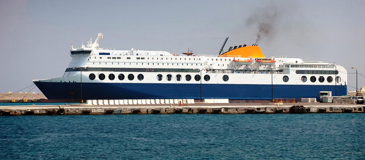 Blue Star 1 after various repairs in NEORION Syros shipyard