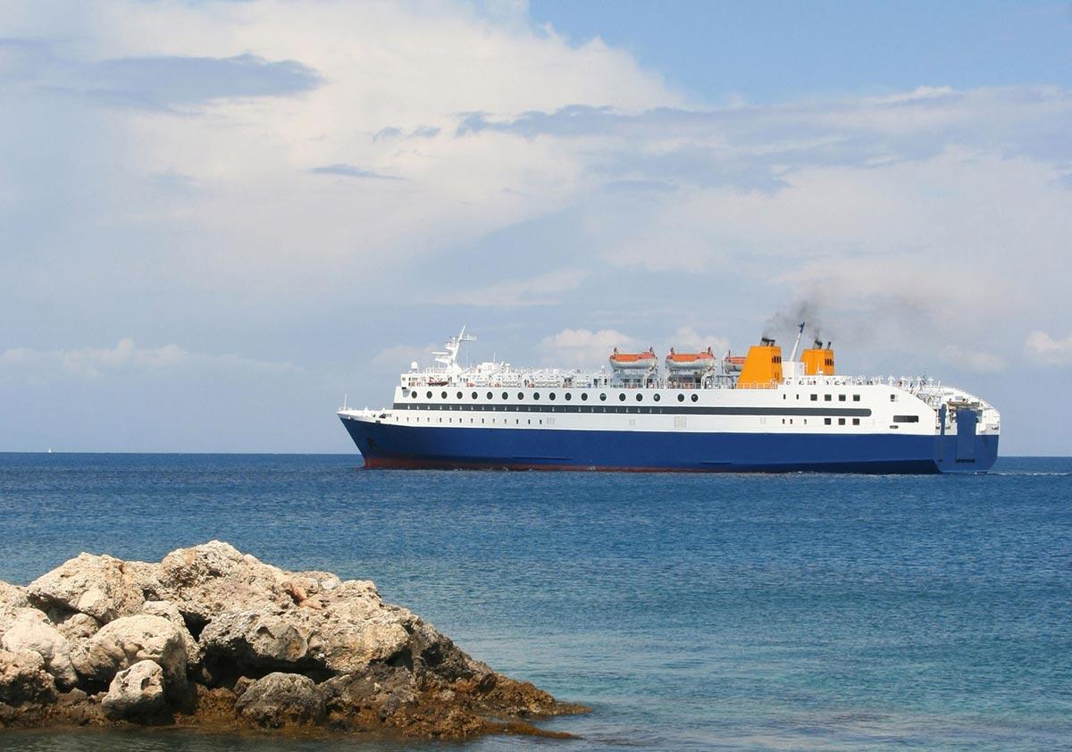 Blue Star Diagoras after various repairs in Piraeus