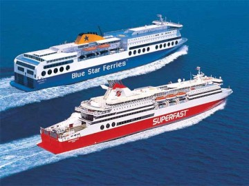 Superfast και BlueStar Ferries