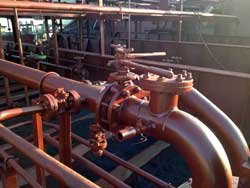 Dynamic Co Construction and Repair of Piping Systems