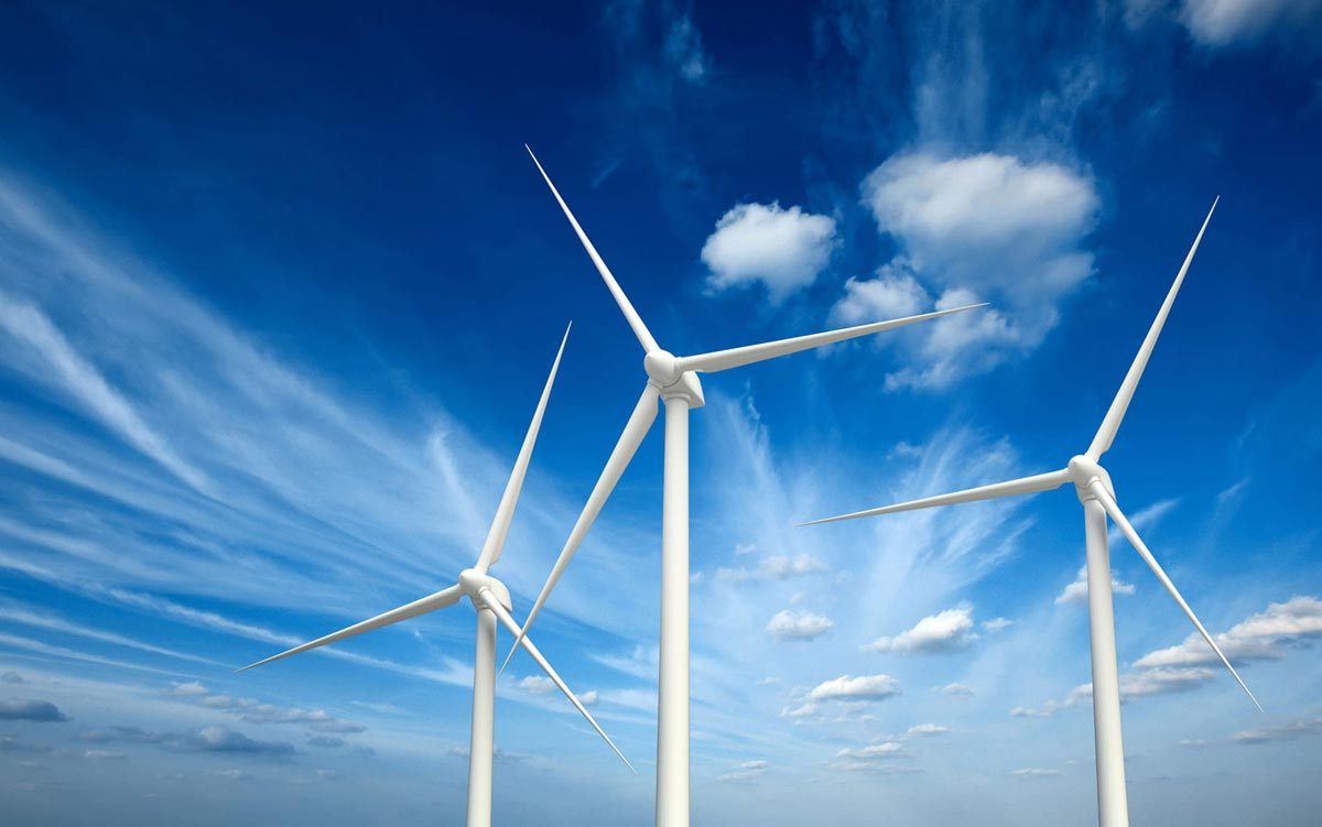 Green renewable energy with generator turbines