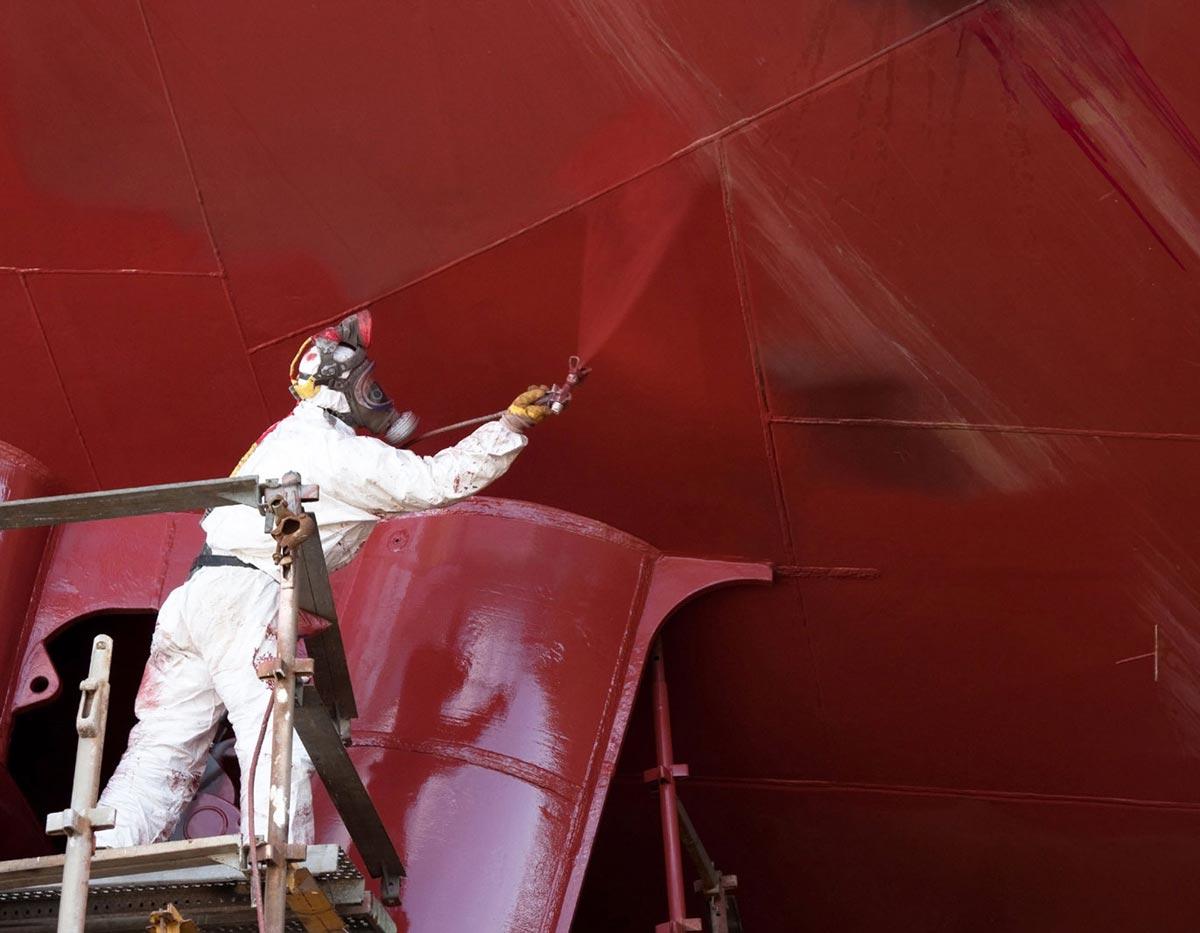 Hull painting