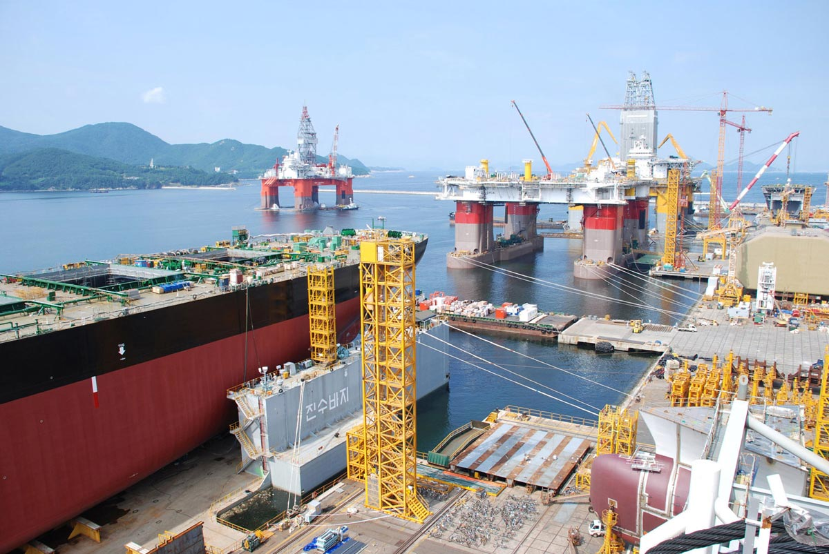 Korean shipyard